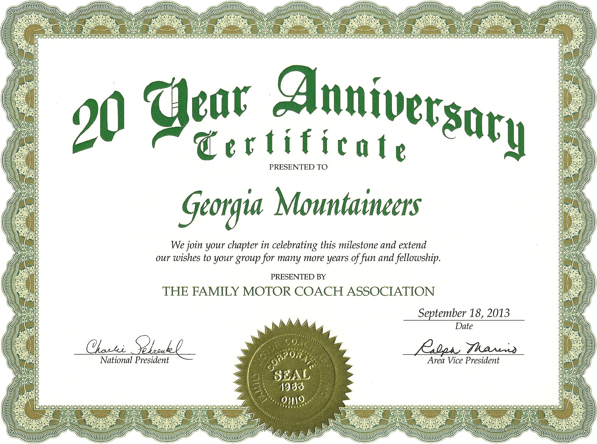 Work anniversary certificate for Wedding anniversary certificate template